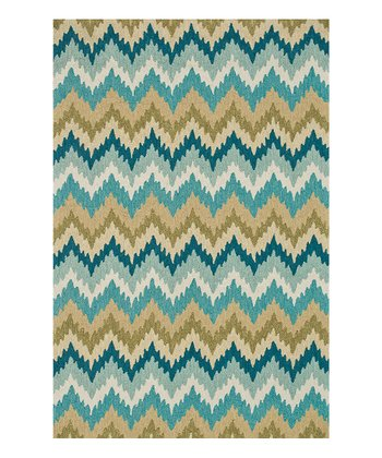 Aqua & Green Summerton Rug