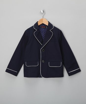 Navy Blazer - Boys
