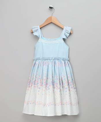 Sky English Floral Frill Dress - Toddler & Girls