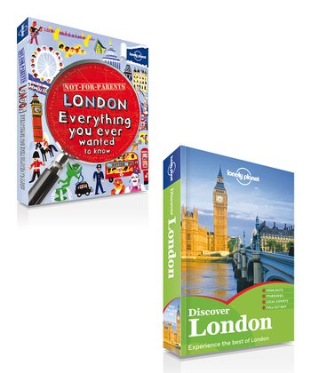 Not for Parents: London & Discover London Paperbacks