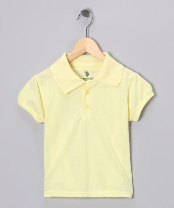 Yellow Banded Polo - Boys