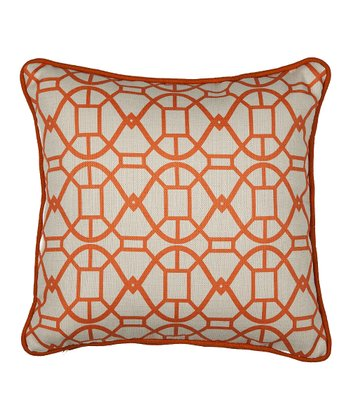 Tangerine Chloe Pillow