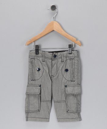 Gray Cargo Shorts - Toddler & Boys