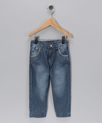 Faded Blue Truck Jeans - Toddler & Boys