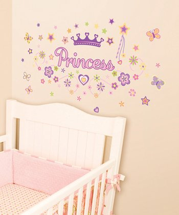 Lot 26 Studio Pretty 'Princess' Wall Decal Set