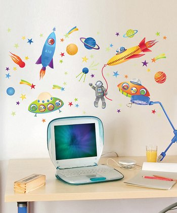 GlowPuff Spaceships Decal Set