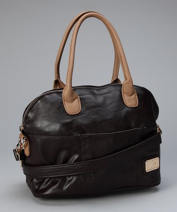 Chocolate Davina Satchel