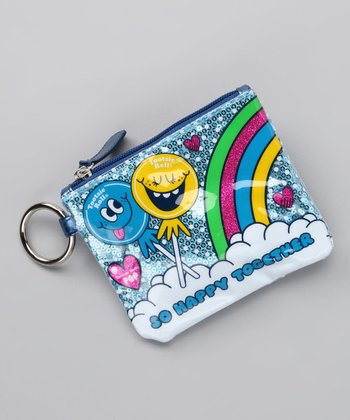 Blue 'So Happy Together' Coin Purse