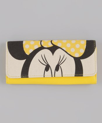 Cream & Yellow Minnie Wallet