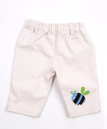 White Bee Pants - Infant, Toddler & Boys
