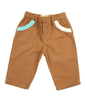 Lourdes Brown Rex Pants - Infant & Kids