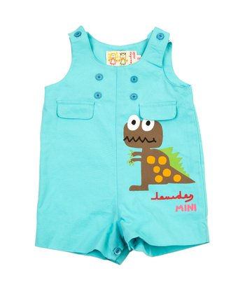 Blue Rex Shortalls - Infant