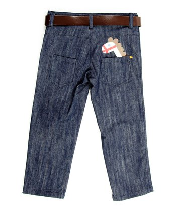 Midnight Wash Horse Jeans - Toddler & Boys