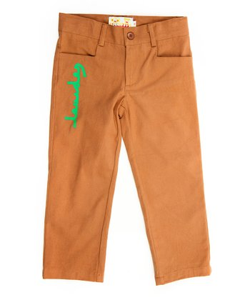 Brown Pants - Infant, Toddler & Boys