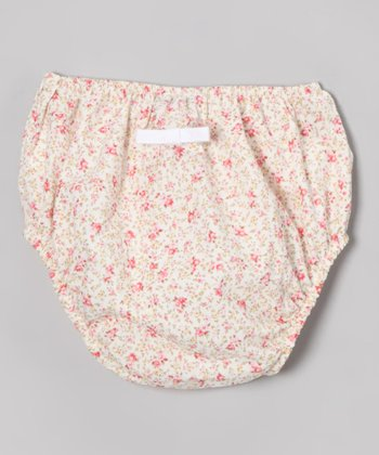 Pink Floral Diaper Cover - Infant