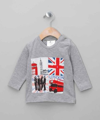 Gray London Tee - Infant