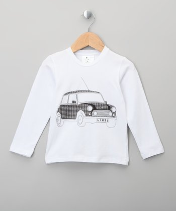 White Mini Cooper Tee - Infant & Toddler