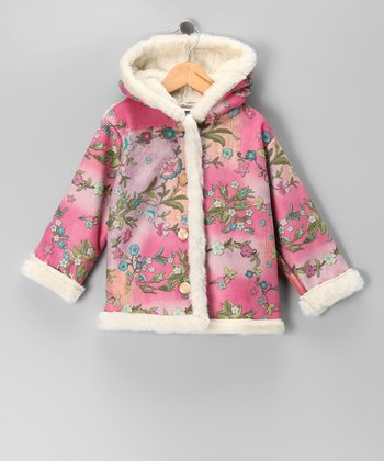 Pink Flower Jacket - Toddler & Girls