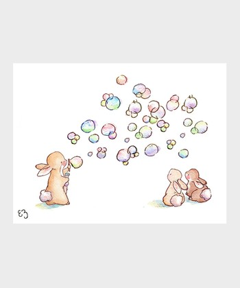 Pretty Bubbles Print