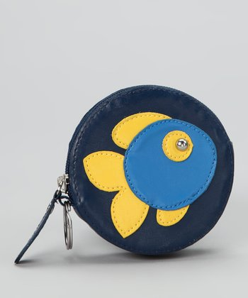 Lu Lu Navy Fish Coin Purse