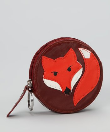 Lu Lu Brown Fox Coin Purse
