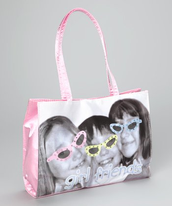 Pink 'Girlfriends' Purse