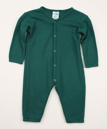 Spruce Thermal Organic Playsuit - Infant