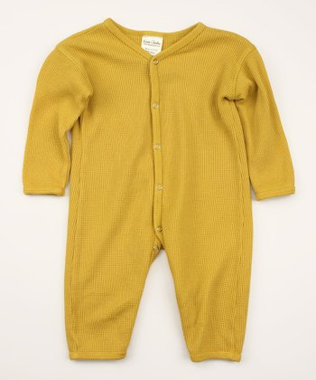 Buttercup Thermal Organic Playsuit