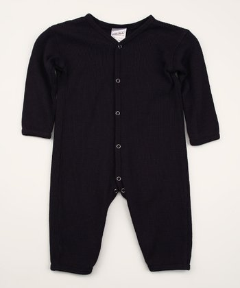 Indigo Thermal Organic Playsuit - Infant