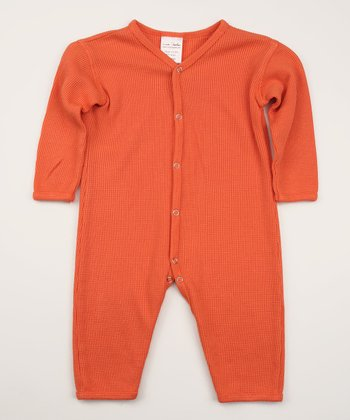 Sunset Thermal Organic Playsuit
