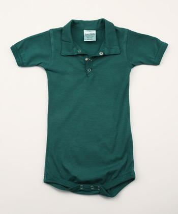 Spruce Organic Polo Bodysuit - Infant