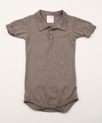 Covert Organic Polo Bodysuit - Infant