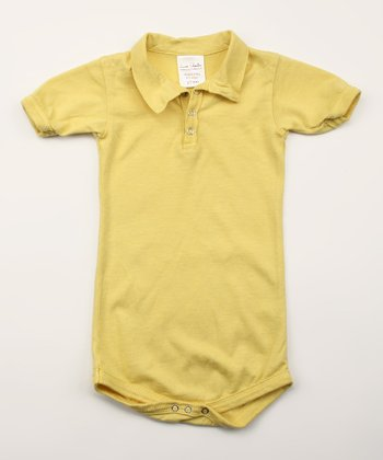 Daffodil Organic Polo Bodysuit - Infant