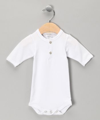 White Bodysuit - Infant