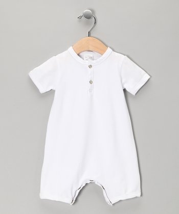 White Romper - Infant
