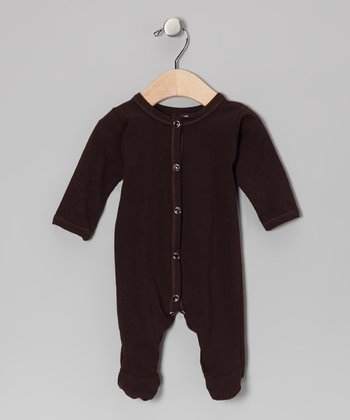 Brown Footie - Infant