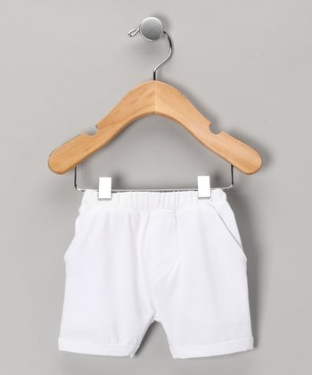 White Shorts - Infant