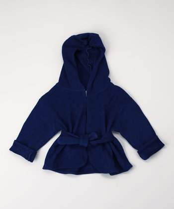 Astro Blues Organic Robe - Infant