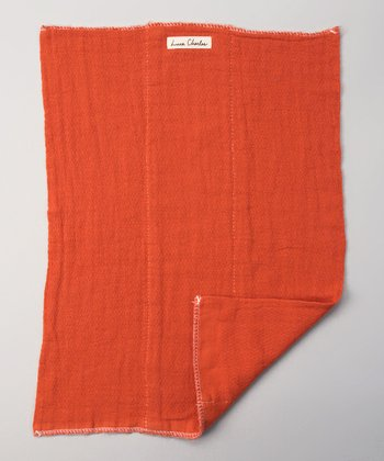 Smokey Red Burp Cloth