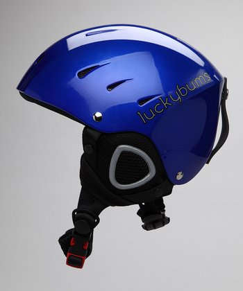 Blue Fleece-Lined Helmet