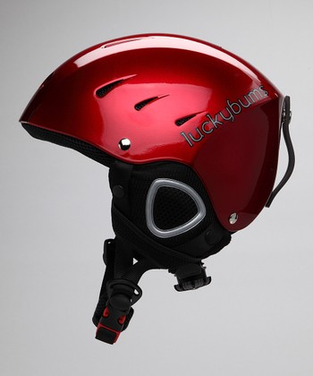 Red Fleece-Lined Helmet