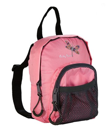 Pink Dragonfly Lucky Bug 1-L Backpack