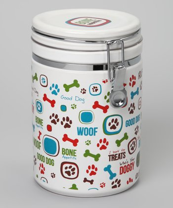'Bone Appetite' Hinged Treat Jar