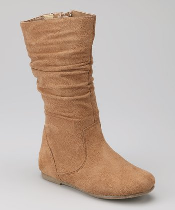 Camel Data High Boot
