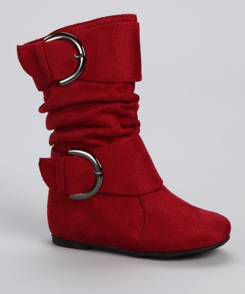 Lucky Top Red Data Boot