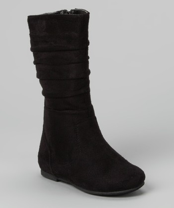 Black Data High Boot