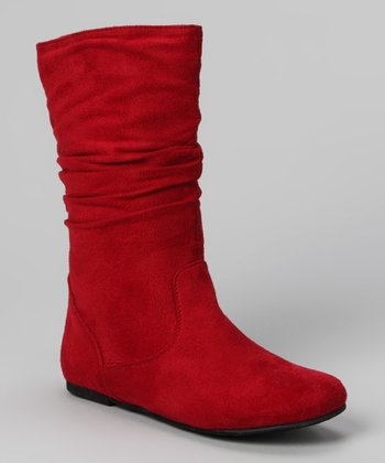 Red Data High Boot
