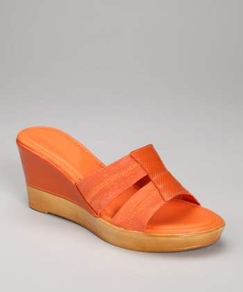 Orange Darlene Slide