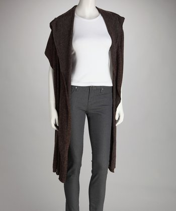 Luna Claire Brown Twilight Hooded Wrap