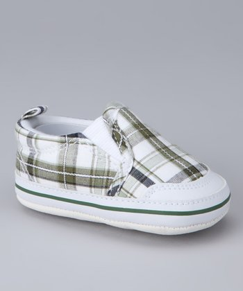 Luna Shoes White Reseda Slip-On Sneaker